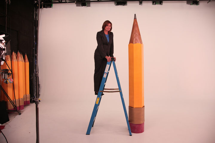 pencil ladder